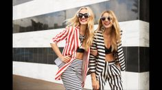 Gap Toothed Models - 7 Models with Gap Teeth We Love - Jessica Hart (right) Harper's BAZAAR