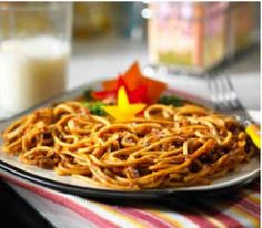 MorningStar Farms® Chef's Special One Pan Spaghetti Recipe – fun (and good-for-you) recipe to make in one pot, together!