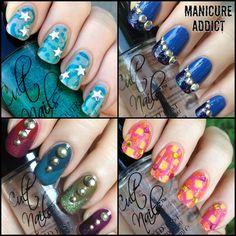 AHHHH i love them all!!!! Manicure Addict: Cult Nails Nail Art