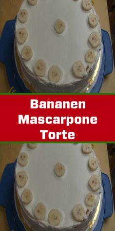 Super Torte, Birthday Cake, Desserts, Food, Pie, Recipes With Bananas, Yogurt, Cake Ideas, Dessert Ideas