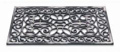 inca Gummimåtte steel firkantet - 120600099-1 - Din tæppekæde.dk