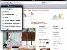 tut: how to add bookmarklet to ipad/iphone for pinterest
