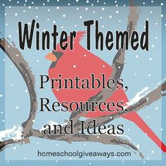 Winter Activities for Kids + More at the Ultimate Homeschool Pinning Party! | Free Homeschool Deals ©