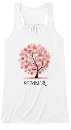 Discover Summer Women's Tank Top, a custom product made just for you by Teespring. - celebrate summer with this beautiful shirt. Donate To Charity, Must Haves, Just For You, Models, Hoodies, Tank Tops, Celebrities, Summer, T Shirt