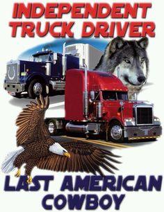 LIKE Progressive Truck Driving School: http://www.facebook.com/cdltruck #trucking #truck #driver Last American cowboy