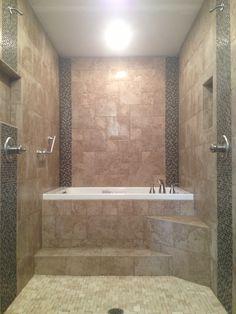 Universal Tubs Zircon 5 ft Right Drain Whirlpool and Air Bath Tub