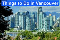 How to visit Vancouver in Canada - insider travel tips! Vancouver is a wonderful place. Oh The Places You'll Go, Places To Travel, Travel Destinations, Travel Tips, Places To Visit, Travel Goals, Travel Ideas, Vancouver Vacation, Vancouver Travel