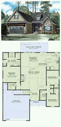 Trendy House Plans Craftsman 1500 Sq Ft Layout 26 Trendy House Plans Craftsman 1500 Sq Ft Trendy House Plans Craftsman 1500 Sq Ft Layout Get OFF Today! Magic Non-Slip Door Mat Craftsman House Plan The Burton House Plans One Story, Family House Plans, Ranch House Plans, Craftsman House Plans, Bedroom House Plans, New House Plans, Dream House Plans, Story House, Small House Plans