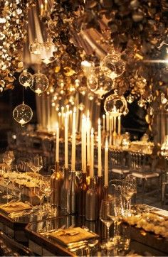 .A Fantasy of textures and candlelight