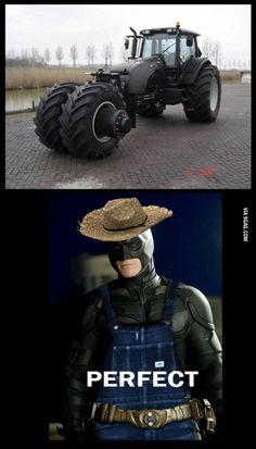 The Dark Knight harvests