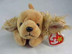 1e1c41279c9 Ty Beanie Baby SPUNKY Cocker Spaniel Puppy Dog 8.25