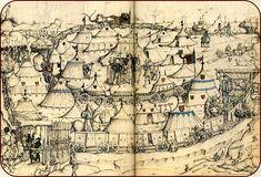 KAYSERSTUHL - Recherche: Zelte im Mittelalter