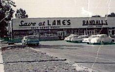Lane's at Westgate Shopping Center, c. 1960 Toledo Ohio