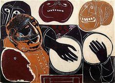 William Wolff, Chorus: Charivari (masks and drums) (1967)