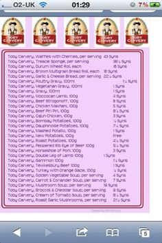 1000 Images About Slimming World Recipes Syn Values