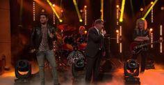 """James Corden """"disputa"""" com Adam Lambert vaga de vocalista do Queen. Veja! #Banda, #Grupo, #Noticias, #Rock, #Série, #Show, #Televisão, #Youtube http://popzone.tv/2017/02/james-corden-disputa-com-adam-lambert-vaga-de-vocalista-do-queen-veja.html"""