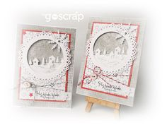 by Ladybug #goscrap #scrapbooking #christmas #cardmaking