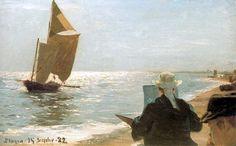 peder severin kroyer prints | Peder Severin Kroyer Pintores en la playa Painting