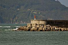 GALICIA ESPAÑA ( La Coruña).- el Faro Espasante.