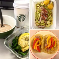 "Day 17 of @the30clean: They call me mellow yellow!  B: egg with spinach and spices and a little banana pudding with black coffee. L: Spicy chicken with sqoodles (squash noodles) with almonds and an olive oil and lemon juice dressing. D: Tuna steak on ""tortillas"" with red, orange and yellow peppers! #healthy #cleaneating #instagood #foodporn #fitness #cooking #orange"