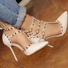 nude miteres goves trouks high heel summer shoes