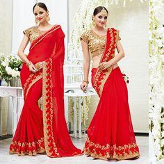 wedding bridal designer indian bollywood ethnic pakistani eid saree blouse sari #Shoppingover #Saree