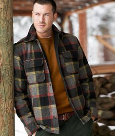 Lined Wool Blend Shirt Jacket | LLBean Signature Holiday Wish List