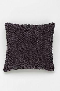 Magical Thinking Hand-Quilted Velvet Pillow