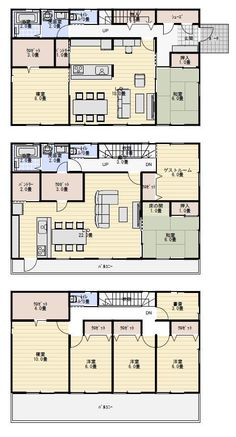 Dream House Plans, House Floor Plans, Sims House Design, Floor Plants, Japanese House, House Painting, Indoor, Flooring, How To Plan