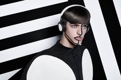 Portraits by B&O PLAY is a photographic exploration of the synergies between consumer wearables and fashion.