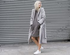 Image result for gray monochrome outfit