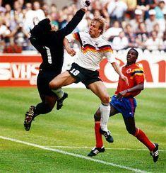 FREZAGUE74: MUNDIAL ITALIA 90 CAMPEON ALEMANIA Football Uniforms, Football Jerseys, Fifa, Germany Vs, Football Design, National Football Teams, World Cup Final, Kids Soccer, Goalkeeper