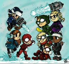 Olicity Arrow Team Felicity Smoak and Oliver Queen Emily Bett Rickards and Stephen Amell Season 3 Flash Team