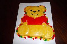Decorated Gelatin Cake