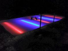 landscape lighting ideas for pools Outdoor Hockey Rink, Backyard Hockey Rink, Backyard Ice Rink, Backyard Water Parks, Outdoor Skating Rink, Ice Skating, Skating Party, Outdoor Ponds, Led Rope Lights