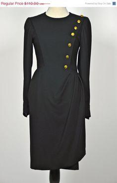 ETSY SALE MILITARY Mod Military Dress // Mod Mini by MyrtleBedford, $82.50