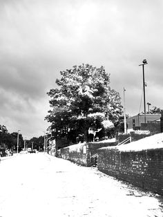 """Snowy Witton Lane - After"" - This is the result of the previous pic being fooled about with to create a wintery effect. I first discovered this technique when I experimented with 'winterising' on a shot of Wenceslas Cathedral in Prague."