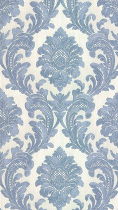 A Traditional, Bold Damask Wallpaper brought to you by I Love Wallpaper.  This Stunning Design will enhance luxury throughout any room.  For similar designs visit ilovewallpaper.co.uk #ilovewallpaper #homeaccents #home #interior #wallpaper Interior Wallpaper, Damask Wallpaper, Love Wallpaper, Glitter Highlight, Iphone Backgrounds, Home Accents, Flower Patterns, Stencils, Blue And White