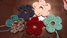 Crochet flowers ♡♥