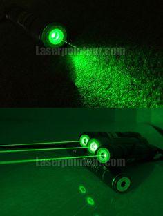 Pointeur laser vert 200mW étanche avec embouts