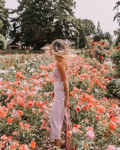 Sunday strolls in the perfect place wearing our Chances Are Jumpsuit! 🌺#lucaandgrae Spring Pics, Spring Pictures, Pretty Pictures, Vibes Tumblr, Flower Patch, Wanderlust, Perfect Place, Spring Aesthetic, Photo Images