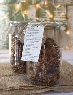 Chai Granola (gluten-free, grain-free, low glycemic index)
