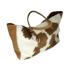 'Stefania' cow hide shopper. Our best seller #Bags #jewellery #Africa www.adeledejak.com