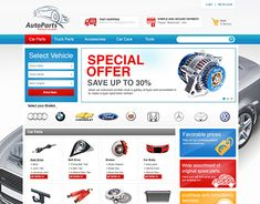 """Check out new work on my @Behance portfolio: """"AutoParts UX/UI"""" http://be.net/gallery/66144089/AutoParts-UXUI"""