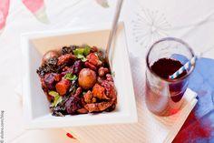Roasted Potatoes, Beets & Kale by Elsbro, via Flickr
