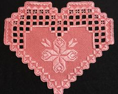 Hardanger Doily Embroidery