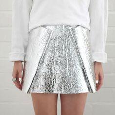 Jupe en aluminium - Love Aesthetics