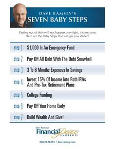 This is a really good idea. Id have to change a couple things though. 1. 1000 emergency 2. Pay off debts 3. 3-6 months in savings. 4. Invest 15% into retirement 5. Buy a house/investment property and pay it off 6. Build wealth and give.  -Chris