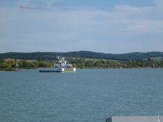 Ferryboat between Szántód and Tihany