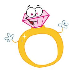 engagement ring cartoon picture 17 engagement rings pinterest rh pinterest com Wedding Ring Clip Art engagement ring cartoon png